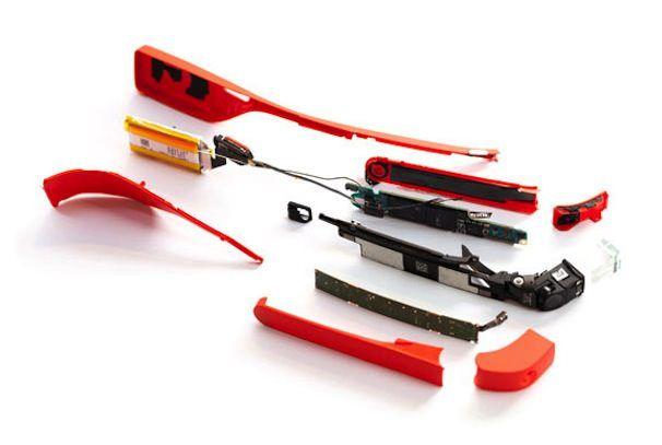 Google Glass разобрали