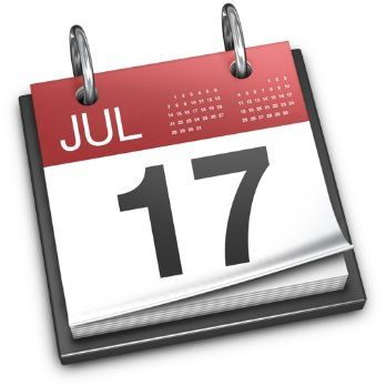 Иконка приложения Календарь в OS X
