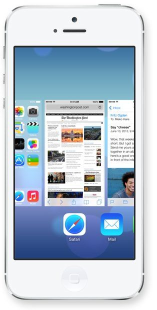 многозадачность в iOS 7