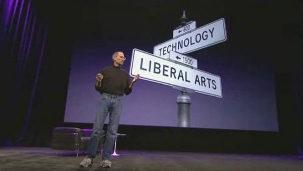 Steve-Jobs-Crossroad-of-liberal-arts-and-technology