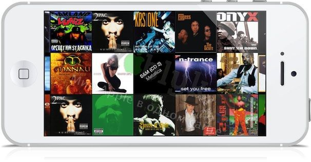 приложение Музыка на iOS 7