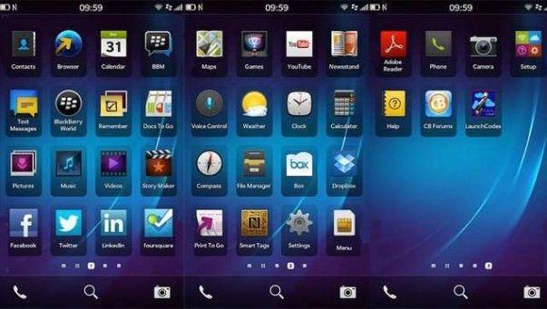 blackberry10screens