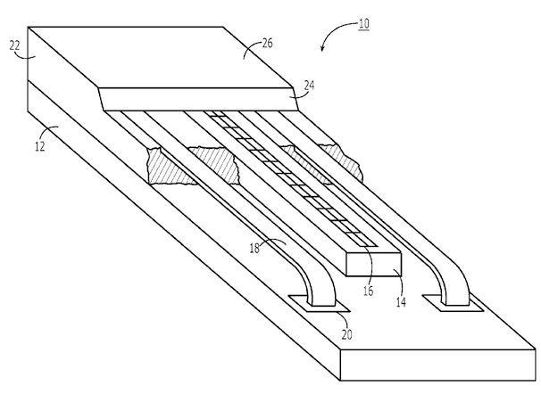 патент на отпечаток сенсор отпечатков пальцев в iPhone 5