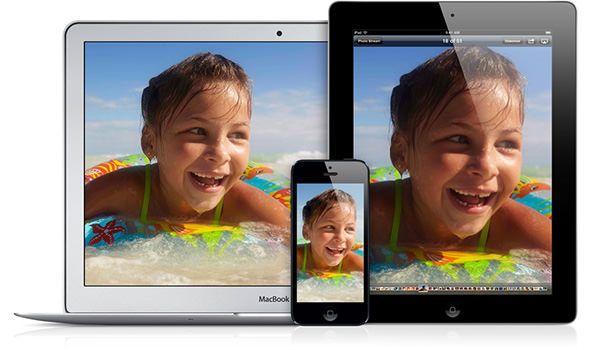 iOS 7 photostream