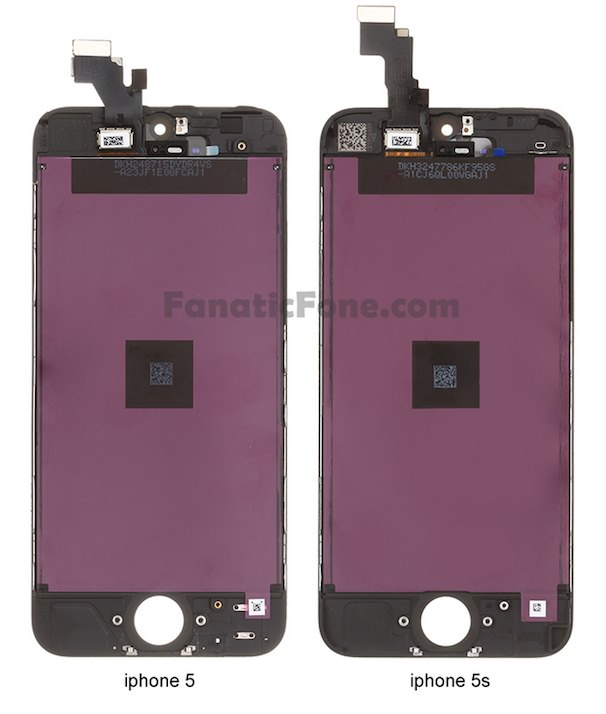 iPhone 5S фото дисплея