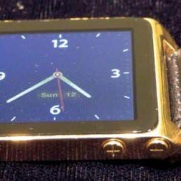 Золотые часы стоимостью в 2 500 долларов можно сделать из iPod nano