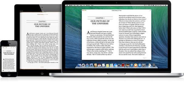 ibooks icloud в os x maveriks