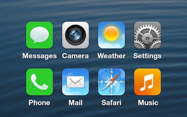 Дизайн иконок в iOS 7