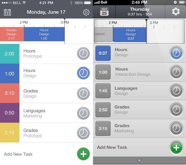 дизайн приложений в iOS 7