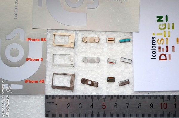 детали iPhone 5S
