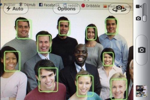 распознавание лиц в iPhone