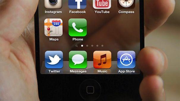 iPhone с прозрачным дисплеем