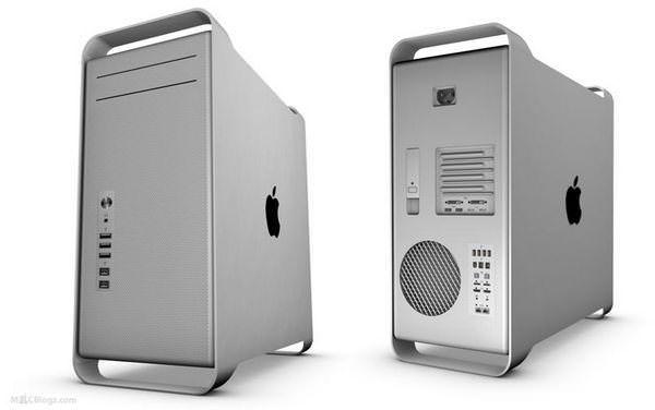 алюминиевые Mac Pro