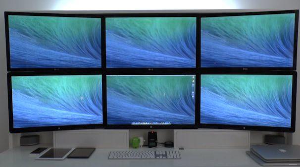 Мультидисплейный режим в OS X 10.9 Mavericks