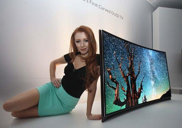 Изогнутый OLED-телевизор Samsung