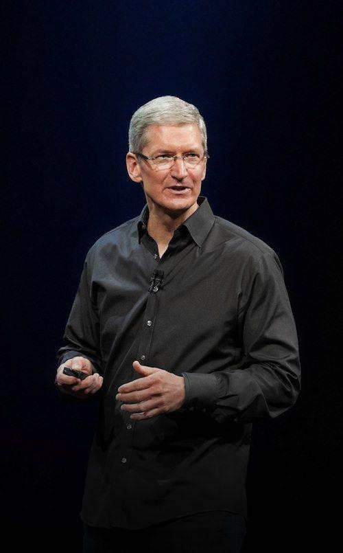 Тим Кук на WWDC 2013