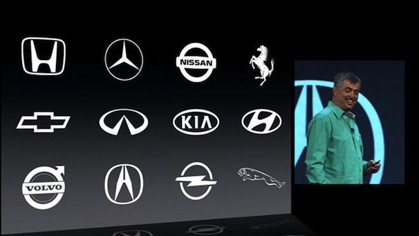 iOS в машине