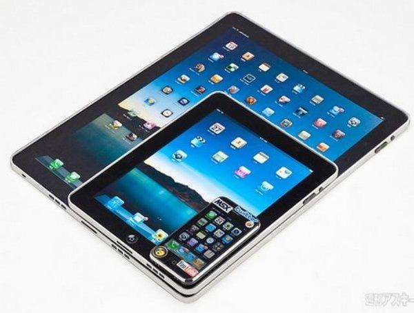 Apple тестирует большие экраны