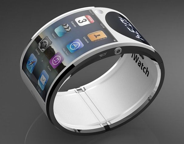 Часы Apple iWatch концепт