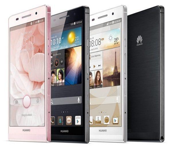 самый тонкий смартфон Ascend P6