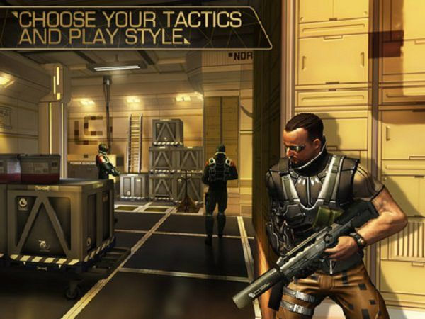Deus Ex: The Fall уже в App Store
