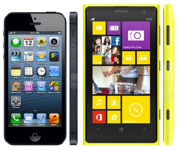 Габариты Lumia 1020