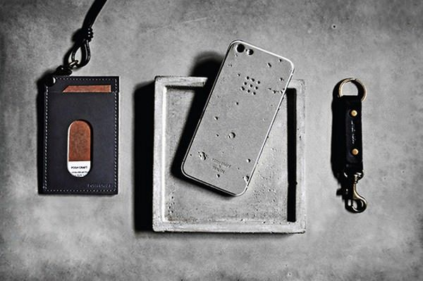 Бетонный чехол для IPhone