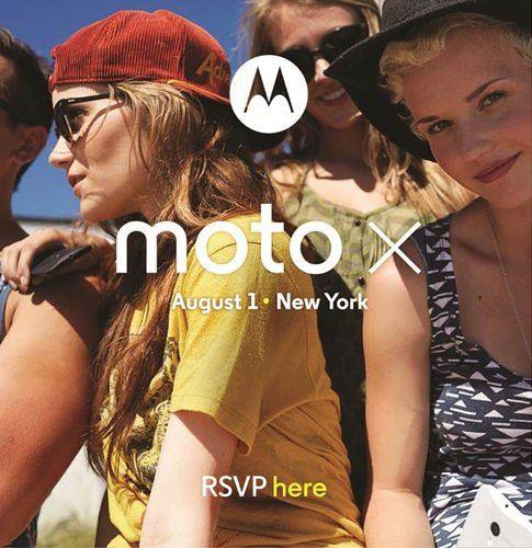 Анонс Moto X