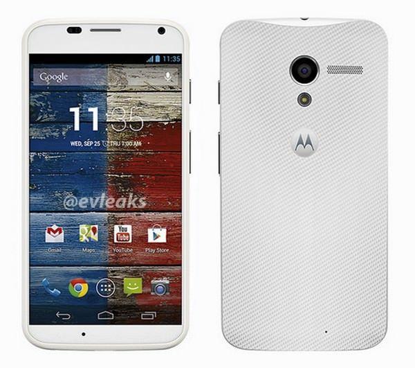 фотографии и технические характеристики смартфона Moto X