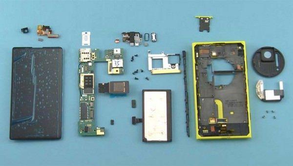 внутренности Lumia 1020