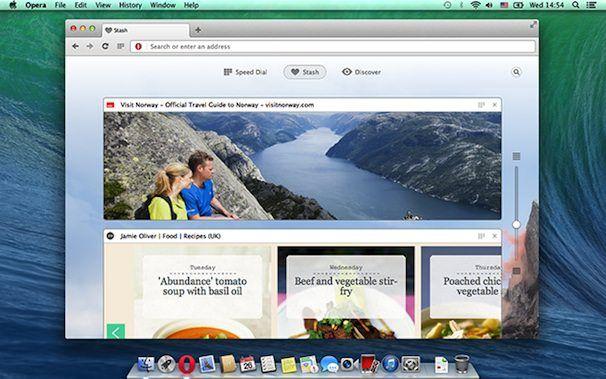 Opera 15 для Mac