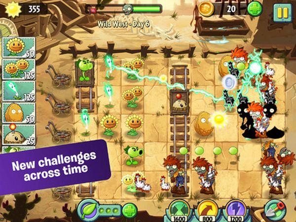 Plants vs. Zombies 2 появилась в App Store
