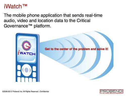 Probendi-iWatch-app