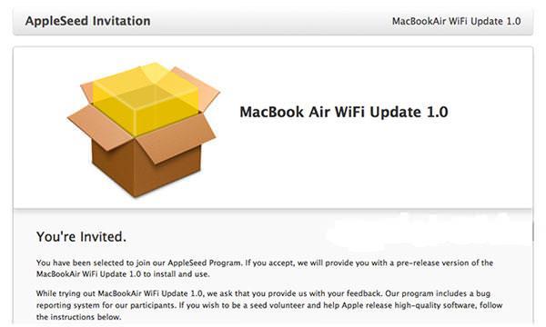 MacBook Air 2013 Wi-Fi