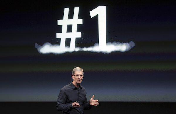 Apple - бренд номер 1