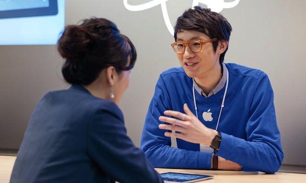 Техническая поддержка Apple в Китае