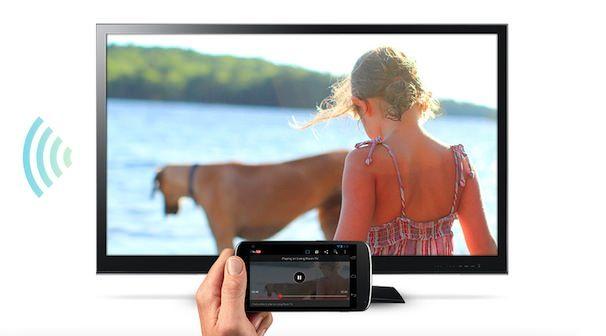 chromecast - tv приставка от google