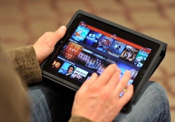 Netflix Launch on ipad