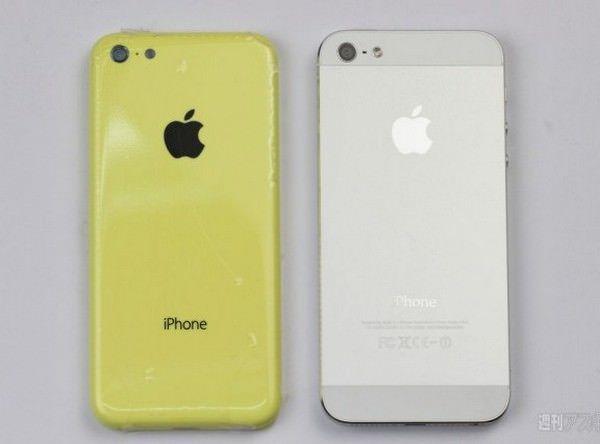 Новые снимки бюджетного iPhone