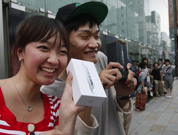 Пользователь iPhone из Китая