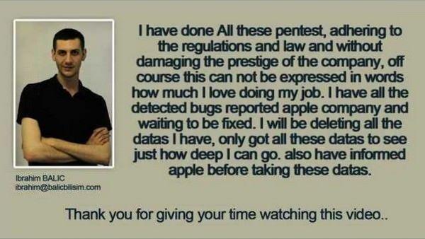 Взлом сайта разработчиков Apple