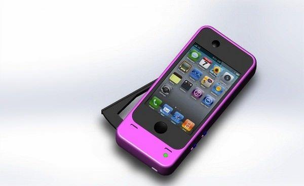 чехол-динамо для iPhone