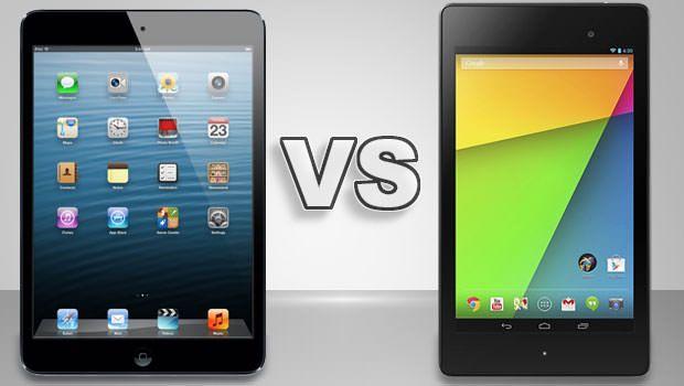 iPad mini проигрывает Nexus 7