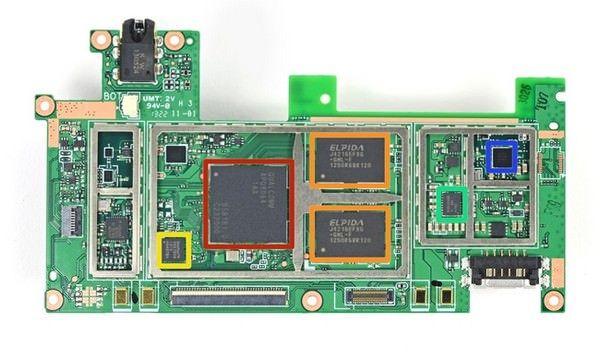 Nexus 7 второго поколения изнутри