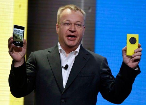 Nokia Lumia 1020, Stephen Elop
