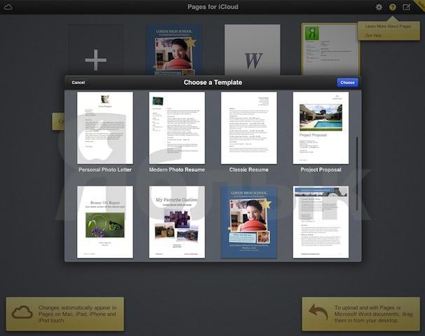 pages для icloud