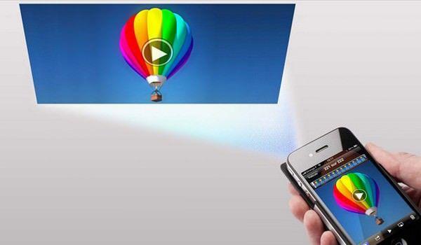 проектор в iPad, iPhone и MacBook