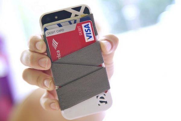 Strap-E превратит iPhone в бумажник