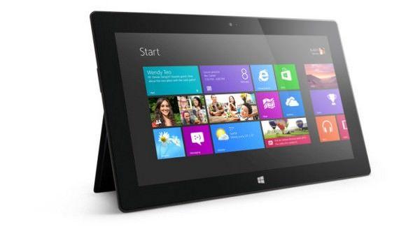 Microsoft снижает цену на планшет Surface RT