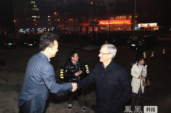Тим Кук посетил China Mobile